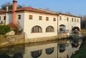 la villa prospetto lato fiume