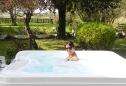 relax in giardino con la spa